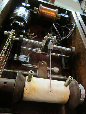 Antique Manual Automatic Coil Hand Winding Machine Winder Anaconda Wire & cable