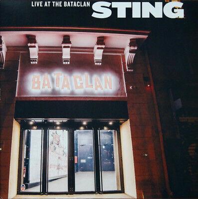 STING Live At the Bataclan LP Vinyl NEW RSD 2017