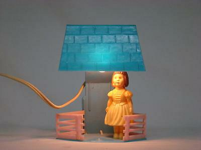 Vintage Childs Night Light with Celluloid Doll