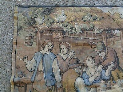 """Antique Handwoven Wall Hanging Tapestry  47"""" x 47"""""""