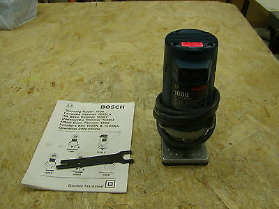 Bosch 1608 router with manual