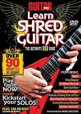 Guitar World -- Learn Shred Guitar: The Ultimate DVD Guide, DVD by Alfred Publis