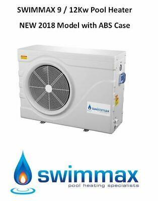 SWIMMAX 9 / 12kw Swimming Pool / Spa Heat Pump Heater