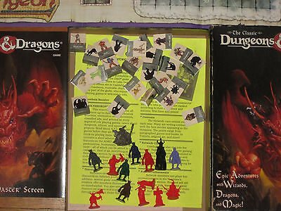 The Classic Dungeons and Dragons Board Game 1994 Edition No. 1106 Missing Dice