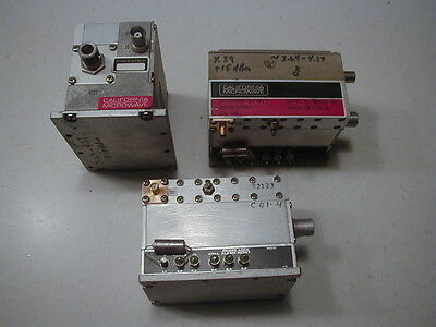PLO-7 Cal M/W 4 GHz  Phase Locked Oscillator Brick TESTED!