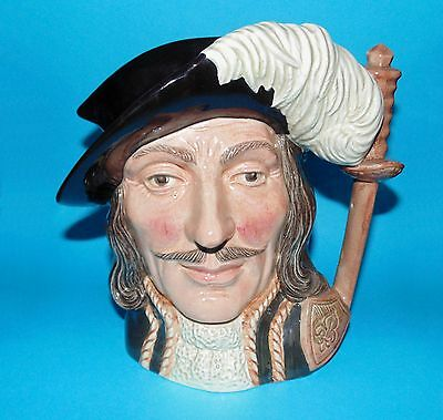 ROYAL DOULTON  character jug  Muskateers  ' Athos ' D6439  LARGE 1ST  Quality