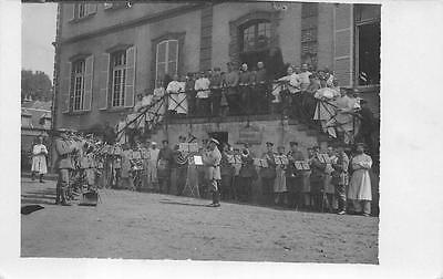 RPPC GERMANY WWI SOLDIER'S MUSIC BAND MILITARY REAL PHOTO POSTCARD (c. 1915) 291