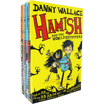 Danny Wallace Hamish Collection - 3 Book Set, Children's Books, Brand New