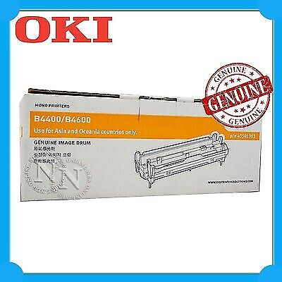 OKI Genuine 43501903 Imaging Drum Unit for OKIPAGE B4400/B4600 (20,000 Pages)