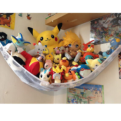 Large Toy Soft Teddy Hammock Mesh Baby Childs Bedroom Tidy Storage Nursery Net