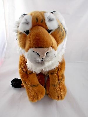 "Fao Schwarz Tiger Plush 12"" Tall"