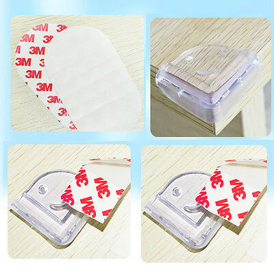 Room Table Desk Door Cushion Glass Edge Corners Guard Protector for Baby Safety