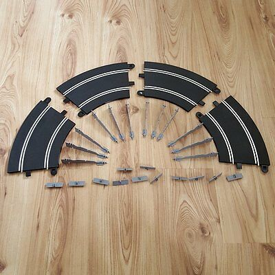 Scalextric Sport 1:32 Track - C8296 'CB' Rad2 45º Banked Curve x 4 & 12 Supports