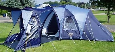 Vango Diablo 600 6 Man Person Berth Family Camping Tent - Flysheet + Pods Only