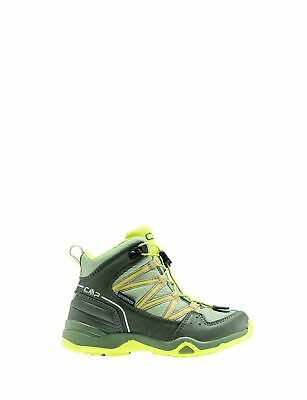 CMP Trekking Shoes Hiking Boots green waterproof Quick lacing
