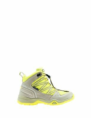 CMP Trekking Shoes Hiking Boots yellow waterproof Quick lacing