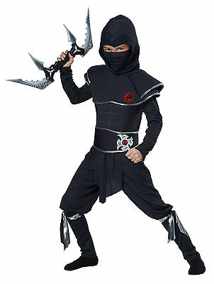 Child Stealth Ninja Warrior Boys Costume