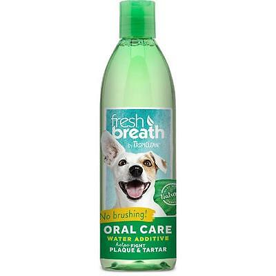 Tropiclean 473 Ml Oral Fresh Breath & Clean Teeth Water Additive Dog & Cat 00101