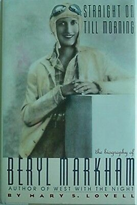 Beryl Markham Biography, 1987 Book