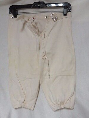 Vintage 50s Pants Football Lace Up Front Boys Mason Athletic Wear Sport AS IS