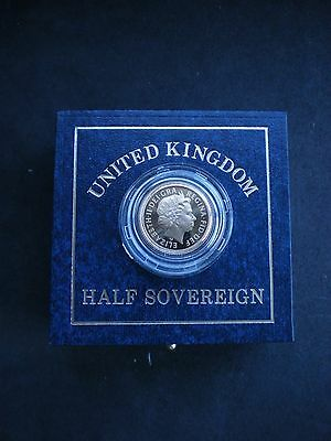 Royal Mint UK GOLD PROOF HALF SOVEREIGN 1983 to 1999 - Choose your year