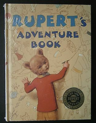 "1940 Reproduction ""RUPERT'S ADVENTURE BOOK"" annual, facsimile in shrink wrap"