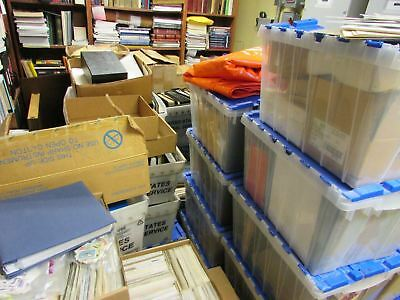 "STAMP ""TREASURE HUNT"" WW & US Large Box Lot Filled with Stamps"