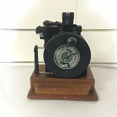 Monarch Pathfinder Antique Marking System Company Pricing Machine W/Dyes