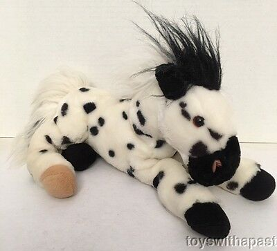 Wells Fargo BILLY HORSE Spotted Appaloosa Advertising Plush 2003 Stuffed Animal