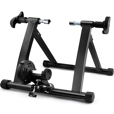Fitness Bicycle Trainer Magnetic 5 level Resistance Wireless Practice Stand New