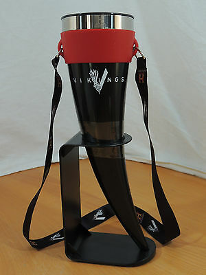 History Channel VIKINGS Das Horn Black & Red Conquerors Drinking Goblet Vessel