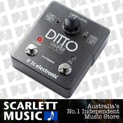TC Electronic Ditto X2 Intuitive Looper Effects Pedal *BRAND NEW*