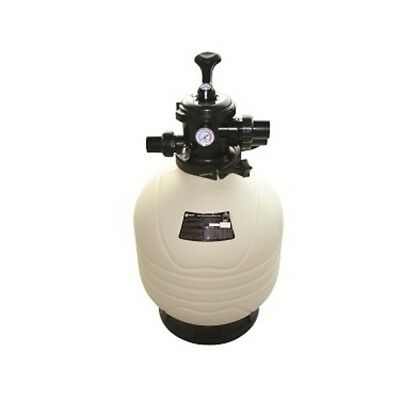 "Emaux MFV 27"" Top Mount Polythylene Sand Filter - 2"" Valve"
