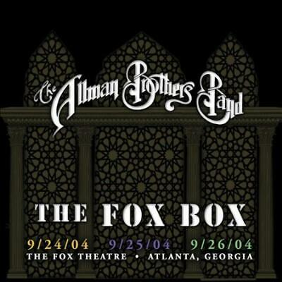 The Allman Brothers Band - Fox Box [2017 Remaster] New Cd