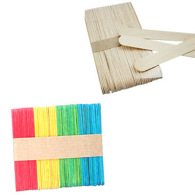 50pcs Cheap High Quality Wooden Popsicle Sticks Lolipop Sticks Cake Decor Tool