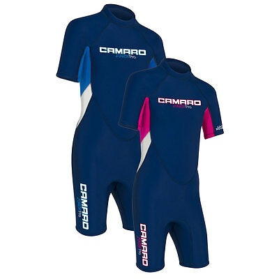 CAMARO SHORTY JUNIOR PRO 2017 Kinder Neopren Semidry Neoprenanzug Wetsuit 272371