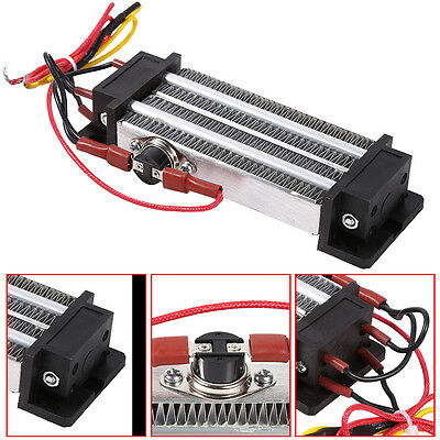 220V 500W PTC Heater Electric Thermostatic Heating Element Air Heater High Power