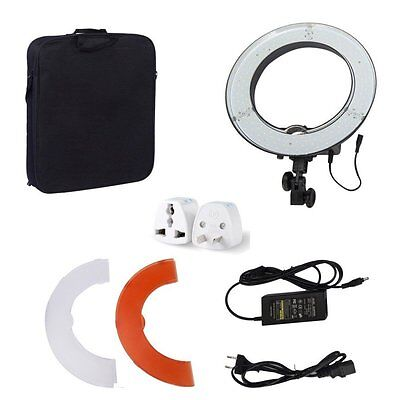 "Dimmable Diva 180pcs 14"" 40W 5500K LED Ring Light For Photo Video Make Up Studio"