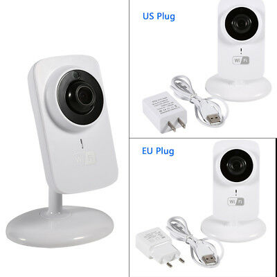 Wireless HD 720P Wifi Baby Monitor Camera Night Vision for IOS Android Phones