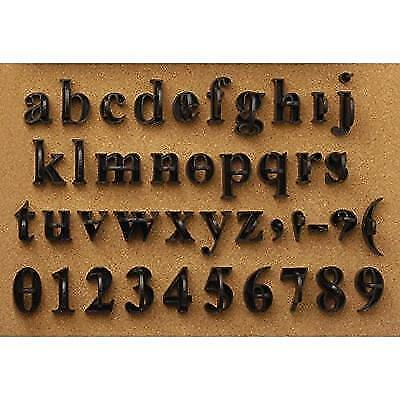 Press In Letters and Numbers Stone Concrete Stamps - Lowercase Traditional