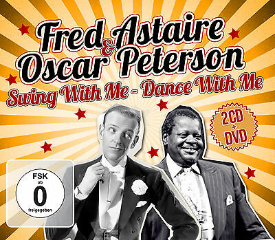 CD DVD Fred Astaire & Oscar Peterson Swing With Me - Dance With Me. 2CD+DVD