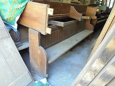 reclaimed church pew