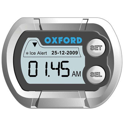 Montre thermomètre OXFORD - Moto / Vélo / Quad / Scooter / Karting