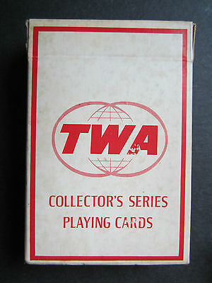 Lot of 3 Vintage Airline Playing Cards, TWA and Pan Am
