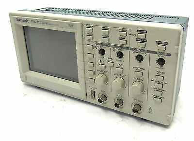 ** Tektronix TDS 210 2 Channel Digital Oscilloscope | 2 mV/div to 5 V/div