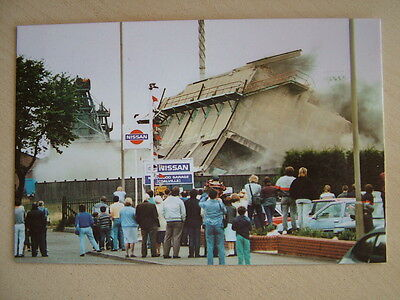 Postcard - ANOTHER PIECE OF COALVILLE'S INDUSTRIAL LANDSCAPE DISAPPEARS. Unused