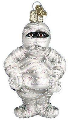 Mummy Old World Christmas Halloween Fall Spooky Scary Movie Ornament Nwt 26058