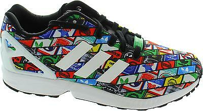 Adidas Torsion Zx Flux Men's Multicolour Breathable Lace Up Running Trainers New