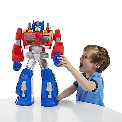 Rescue Bots Transformers Epic Optimus Prime Action Figure Playskool Hasbro