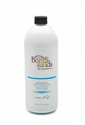 Bondi Sands Professional Spray Tanning Solution Tan Mist 1 Litre Light Medium